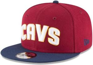 Cleveland CAVALIERS NewEra 9Fifty WINE / NAVY Snapback CAVS Hat (NEW! NEW! NEW!)