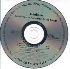 Riverside Battle Songs by Ollabelle Exclusive Radio Promo CD 2006 Verve