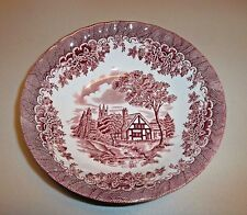 Churchill Dinnerware  Coupe Cereal Bowl Brook Pink - Rare!