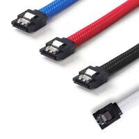 50CM SATA 3.0 III SATA3 7pin Datenkabel 6 Gb / s SSD Kabel D T7Q2