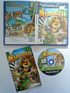 Madagascar - PS2 PlayStation 2 Game Complete with Manual