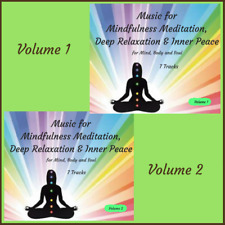 2 x CDs @HALF PRICE  - Music for Mindfulness Meditation & Relaxation 14 Tracks