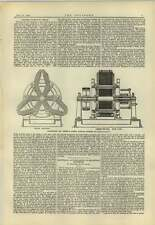 1883 Delphinstone And Vincent Dynamo Electric Machine Oliver Lodge On Batteries