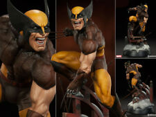 Sideshow Wolverine Exclusive Brown Costume Premium Format Figurine Statue