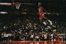 Z134 Michael Jordan Dunk Poster 24X36