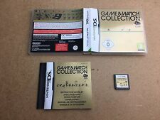 GAME & WATCH COLLECTION-Nintendo DS (NDS) Testé/Travail UK PAL et
