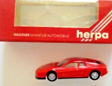 "HERPA 1:87 NEW IN BOX  ""FERRARI TESTAROSSA"" Miniature model in red"