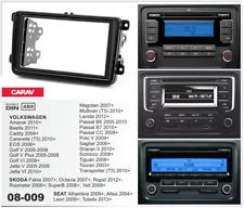 CARAV 08-009 2Din Kit de instalación de radio VW Golf Passat T5 Tiguan SKODA