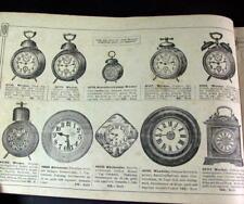 Jonass & Co Berlin Katalog 1920/21 - Uhren Taschen usw - Versandhauskatalog