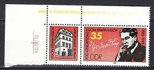 GERMANY - DDR 1985 MNH** SC# 2470 Egon Erwin Kisch - Journalist with label and