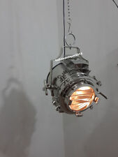 Modern Industrial Retro Nautical Chrome Pendant Lamp Hanging Ceiling Light decor