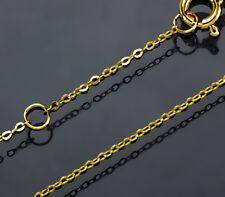 ECHT GOLD *** Feine Kette Ankerkette 42 / 45  cm
