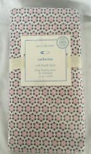 Pottery Barn Baby Catherine Pink Brown Crib Fitted Sheet Nwt Nla