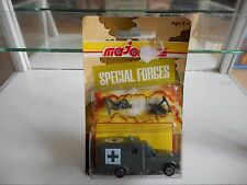 Majorette Special Forces Ambulance in Army Green on Blister