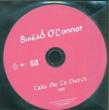 Sinead O'Connor - Take Me To Church By Hozier 1 Track No Promo Cd Eccellente