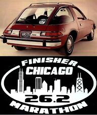 2020 or any year Chicago Marathon Finisher Il Decal i Pad Suit case,Car Window