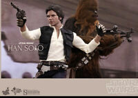 Sideshow / Hot Toys Han Solo And Chewbacca A New Hope!!!!