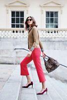 Boden Hose - Hampshire Crop Flare Trousers - Stretch Elegant NEU - UK 8 P EU 36