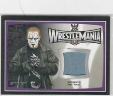 WWE Sting 2015 Topps Road To WrestleMania 31 Event Used Mat Relic Card