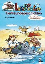 Lesepiraten-Tierfreundegeschichten von Ingrid Uebe   Buch   Zustand gut