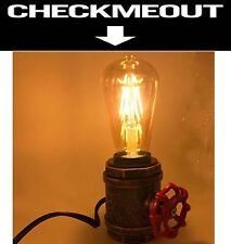 Vintage Industrial Metal Lamp Steampunk Desk Lamp Rustic Style Table Lamp 10x7cm