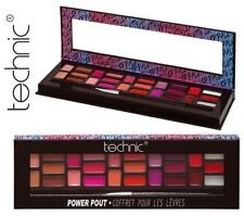 Technic Power Pout Lip Gloss Palette Lipstick Xmas Gift Set Christms Kit Make Up