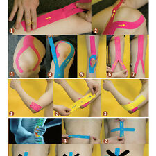 Practical Sports Tape Self-adhesive Elastic Bandage Muscles Care Strap Sticker
