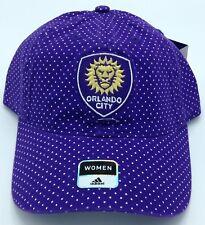 2fd7bb8fc673 MLS Orlando City SC Adidas Womens Buckle Back Cap Hat Beanie Style #EZ50W  NEW