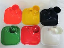 Set of 6 Ingrid Melamine Mug & Snack Plates