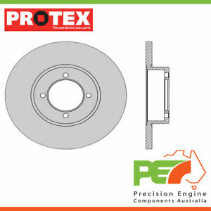 2x New *PROTEX* Disk Brake Rotors - Front For. NISSAN 200B 810 4D Sdn RWD.