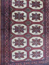 A SENSATIONAL OLD HANDMADE PAKISTAN RUG (150 x 97 cm)