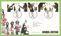 G.B. 2006 Sounds of Britain on Royal Mail First Day Cover, Tallents House
