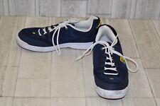 DC Syntax Skate Shoes-Men's Size 11.5 Navy/White