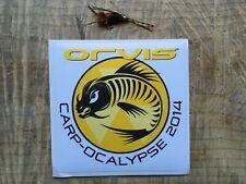 Orvis Authentic Fly Fishing Carp-Ocalypse 2014 sticker