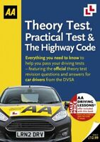 THEORY TEST PRACTICAL TEST AND THE HIGHWAY CODE NEW  AA PUBLISHING PAPERBACK  SO