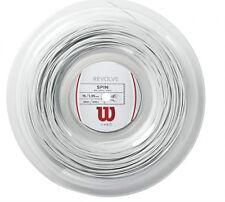 Wilson Revolve matassa corde tennis 200m calibro disp.1,35 colore bianco