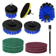 12PCS Drill Brush Tub Cleaner Grout Power  Scrubber Cleaning Combo Set Tool Kit