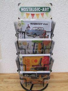 Nostalgic Art Blechpostkarte ca 10 x 15 cm Div. Motive Sammelschilder