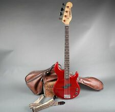 1990's Yamaha Bb300 Bass Vivid Red Finish + Original Gig Bag