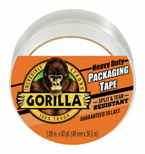 Gorilla  1.88 in. W x 40 yd. L Packaging Tape  Clear
