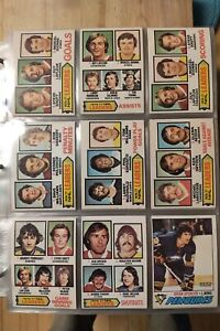 1977-78 OPC O-PEE-CHEE HOCKEY CARD COMPLETE SET 1-396