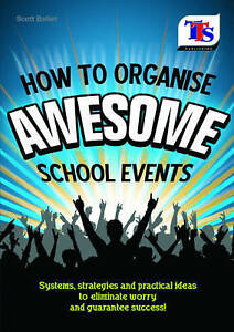 How to Organise Awesome School Events Guide RRP £9.99 Book Event College Uni