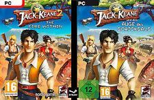 Jack Keane 2 - The Fire Within / und Das Auge des Schicksals - STEAM KEY Code PC