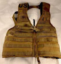 New Fighting Load Carrier Vest Coyote Tan MOLLE USMC Load Bearing Vest FLC LBV