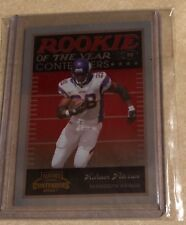 Adrian Peterson 2007 Playoff Contenders Rookie of the Year #ROY-2 #'D 203/1000