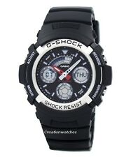 Casio G-shock Analog digital World Time Watch AW-590-1ADR