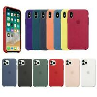 Original Silicone OEM Case Cover For iPhone 5 6 6S 7 8 Plus XR XS X 11 Pro Max