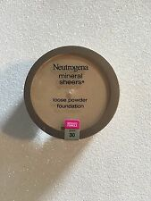 Neutrogena Mineral Sheers Loose Powder Foundation Buff 30