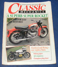 CLASSIC MECHANICS AUGUST/SEPTEMBER 1988 NO.25 - A SUPERB SUPER ROCKET