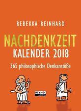 Nachdenkzeit 2018 Kalender von Rebekka Reinhard - Abreißkalender